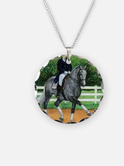 Belgian Warmblood Dressage H Necklace