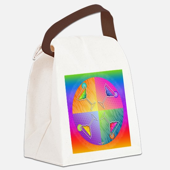 MARGARITAS Ppo Art Canvas Lunch Bag