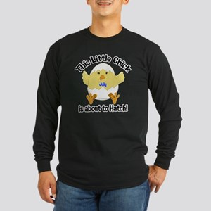 JULY Chick about to Hatch Long Sleeve Dark T-Shirt