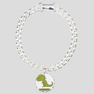 Rawrsome Charm Bracelet, One Charm