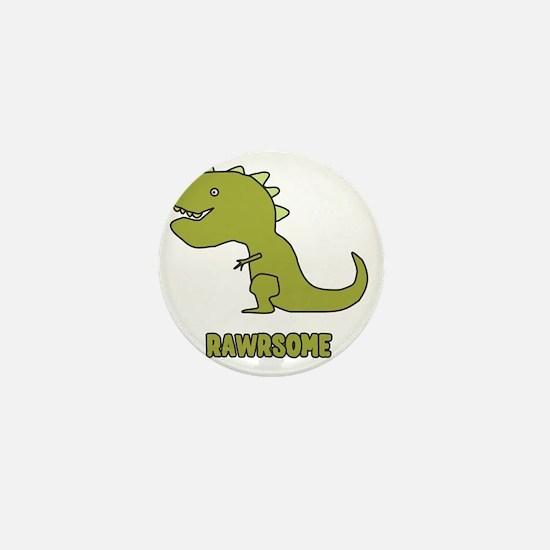 Rawrsome Mini Button