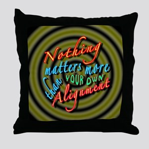 Alignment-30B2 Throw Pillow