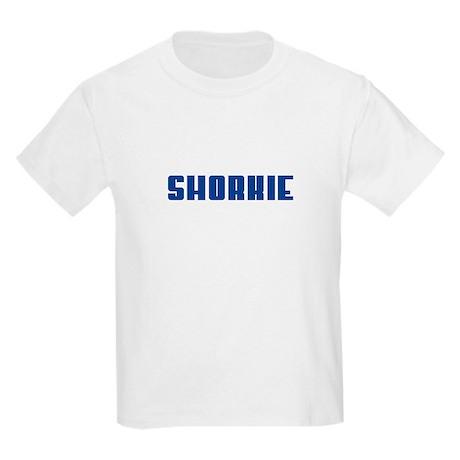 Groovy Blue Shorkie Kids Light T-Shirt