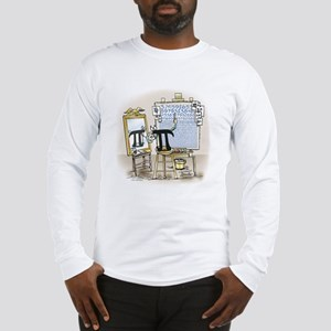 Pi_27 Rockwell (10x10 Color) Long Sleeve T-Shi