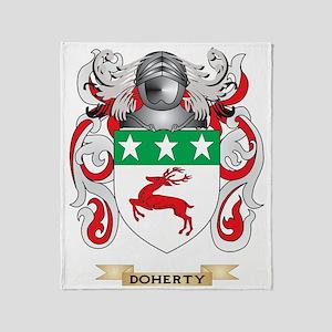 Doherty Coat of Arms Throw Blanket
