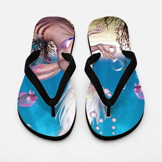 Mermaid!  Flip Flops