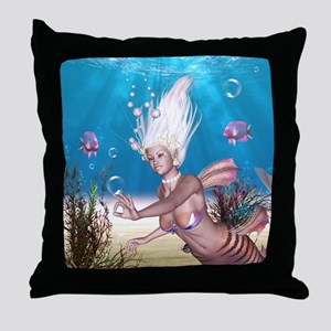 Mermaid!  Throw Pillow