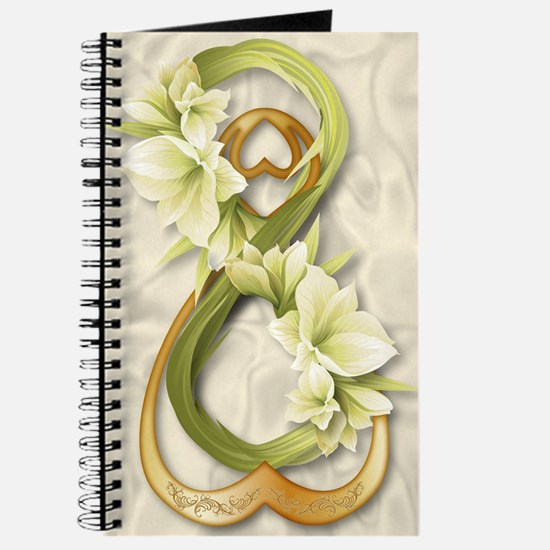 Double Infinity Gold With Cowliliy - 1 Journal