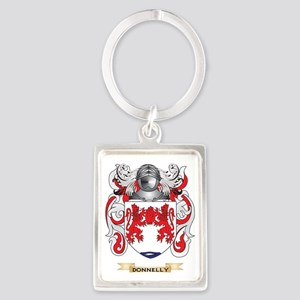 Donnelly Coat of Arms Portrait Keychain