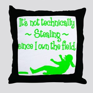 technically Throw Pillow