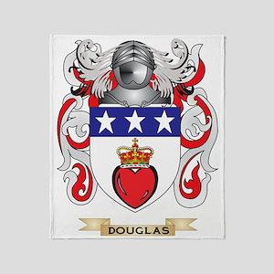Douglas Coat of Arms Throw Blanket