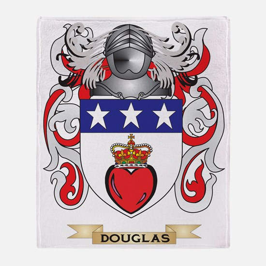Douglas Coat of Arms Throw Blanket