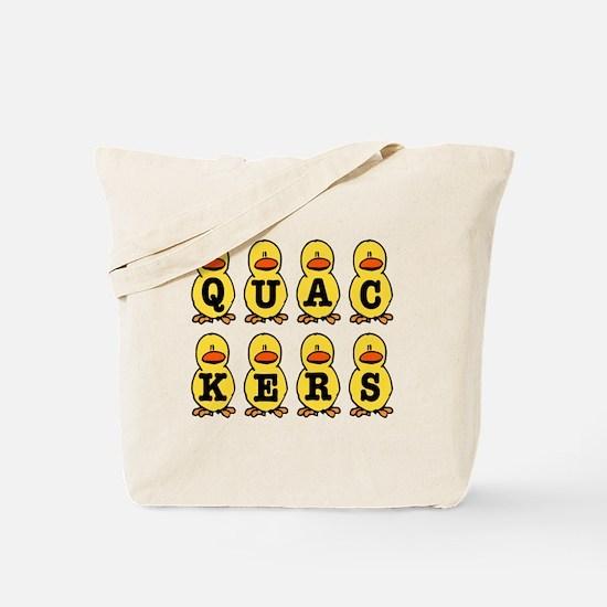 Quackers Ducks Tote Bag