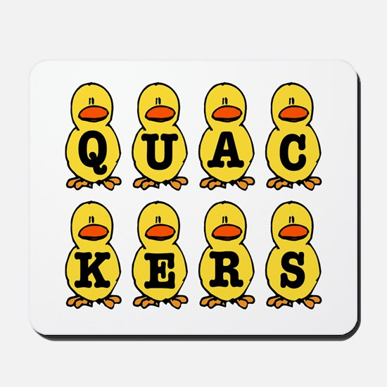 Quackers Ducks Mousepad