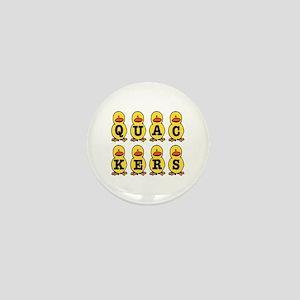 Quackers Ducks Mini Button