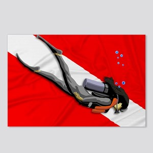 Dive Flag Postcards (Package of 8)