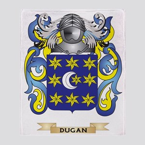 Dugan Coat of Arms Throw Blanket