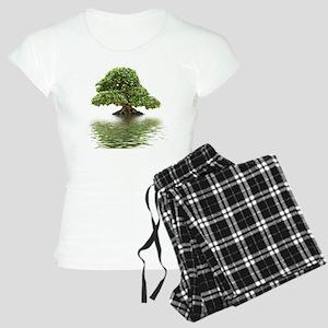 Ficus bonsai with water ref Women's Light Pajamas