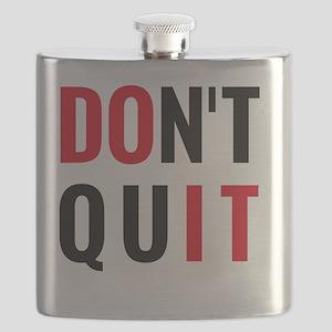 do it, don't quit, motivational text design Flask