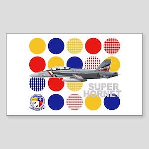 VFA-2 Bounty Hunters Rectangle Sticker