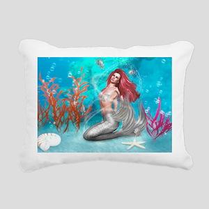 Magic Mermaid Rectangular Canvas Pillow