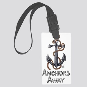Anchors Away Large Luggage Tag