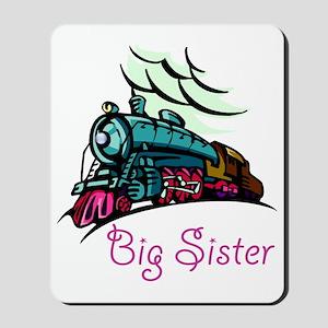 Big Sister Rolling Train Mousepad