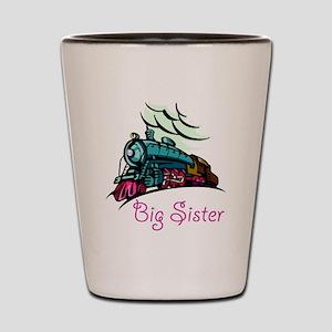 Big Sister Rolling Train Shot Glass