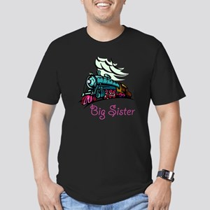Big Sister Rolling Tra Men's Fitted T-Shirt (dark)