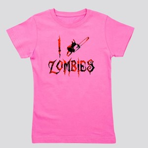 i chainsaw zombies dark Girl's Tee