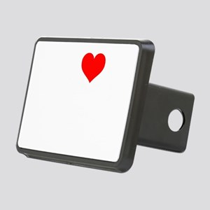 i heart patch pirates ligh Rectangular Hitch Cover