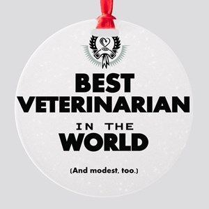 Best 2 Veterinarian copy Ornament