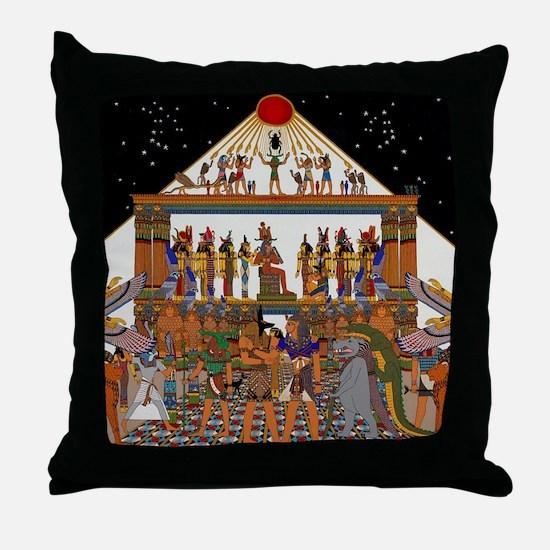 Unique Karnak Throw Pillow