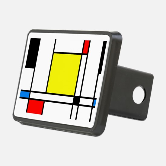 Mondrian Lines Hitch Cover