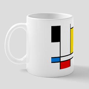 Mondrian Lines Mug