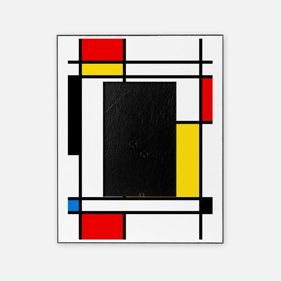 Mondrian Lines Picture Frame
