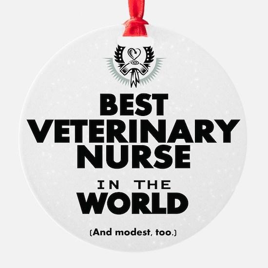 Best 2 Veterinary Nurse copy Ornament