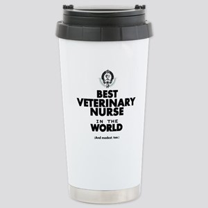 Best 2 Veterinary Nurse copy Travel Mug