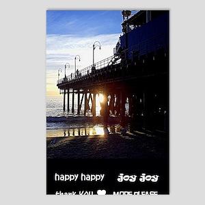 hhjj journal Santa Monica Postcards (Package of 8)