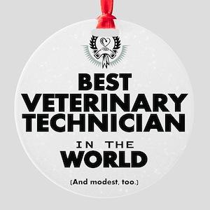 Best 2 Veterinary Technician copy Ornament