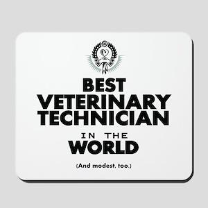 Best 2 Veterinary Technician copy Mousepad