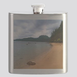 Kauai Hanalei Bay Beach Flask