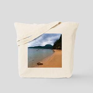 Kauai Hanalei Bay Beach Tote Bag