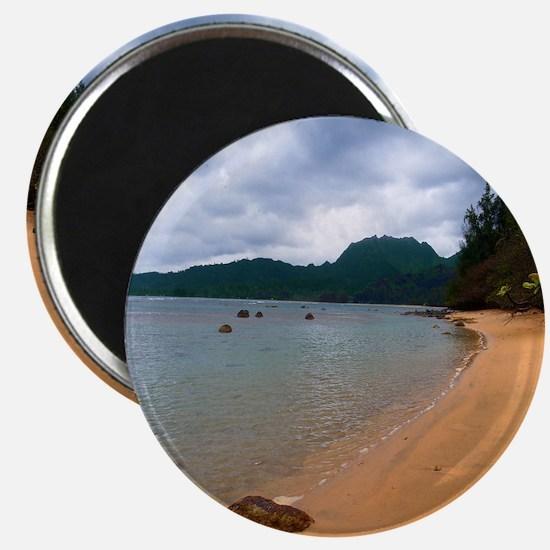 Kauai Hanalei Bay Beach Magnet