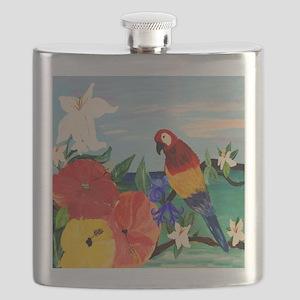 Parrot Garden Flask