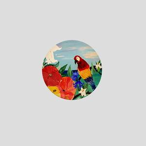 Parrot Garden Mini Button