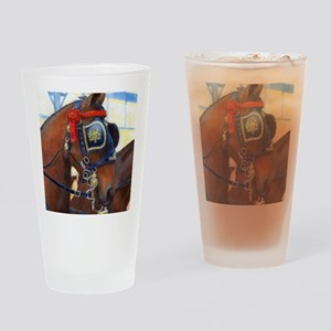 Cleveland Bay Horse Drinking Glass