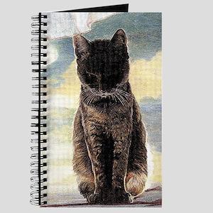 Contemplation Tabby Cat Journal