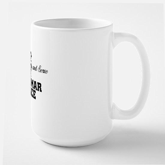 Grammar Police Large Mug