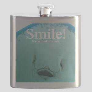 Stingray Smile Flask